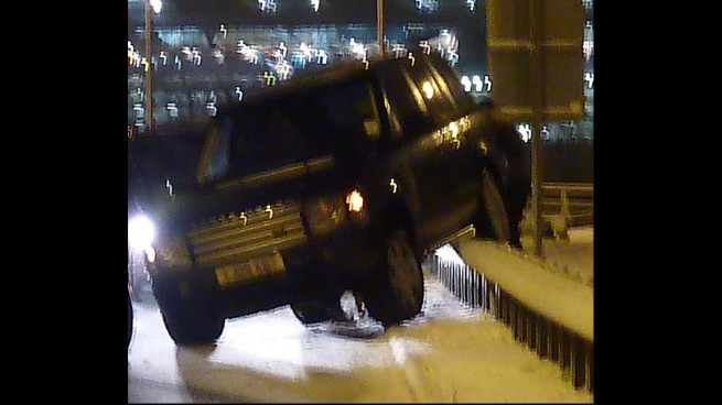 One Icy Section Leaves 1D's Niall On A Crash Barrier  One Icy Section...