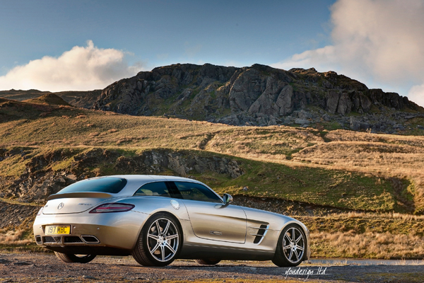 Mercedes Sls Shooting Brake The Sls You Never Knew You Needed