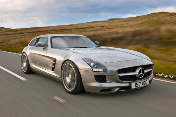 Mercedes Sls Shooting Brake The Sls You Never Knew You