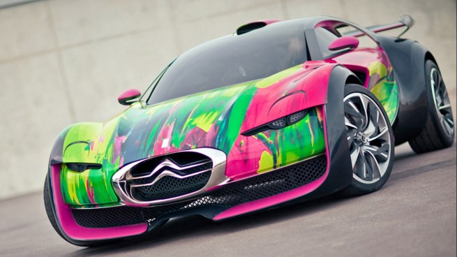 The Survolt Has 2 Electric Motors 300hp And An Insane Paint Job Automobilesreview