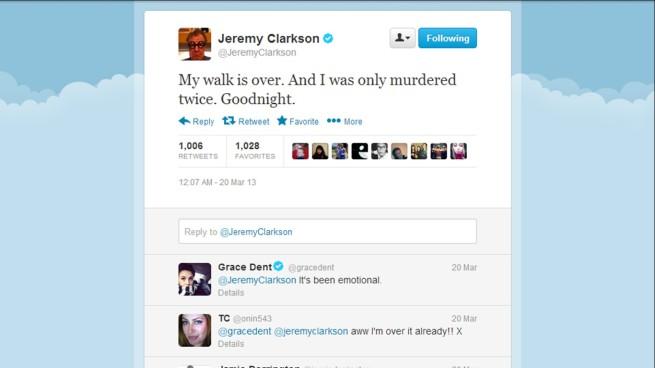 Jeremy clarkson s top 50 most outrageous tweets