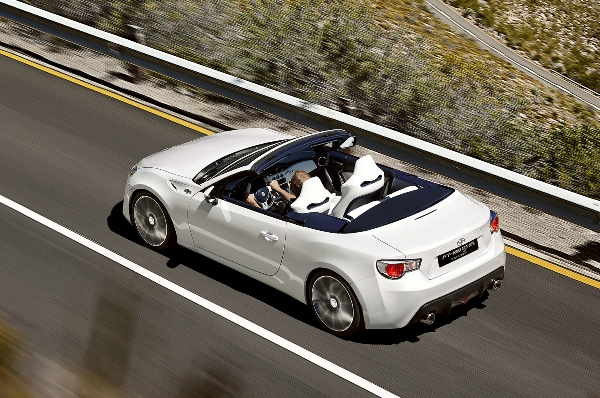 The Toyota Gt86 Convertible Eagle Has Landed