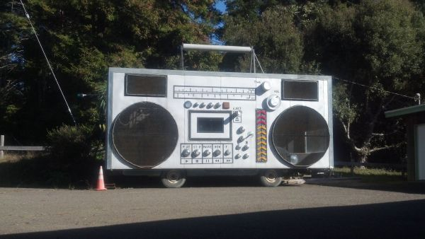 This Boombox-Shaped Bang Bus Is The Best Thing You'll See ...