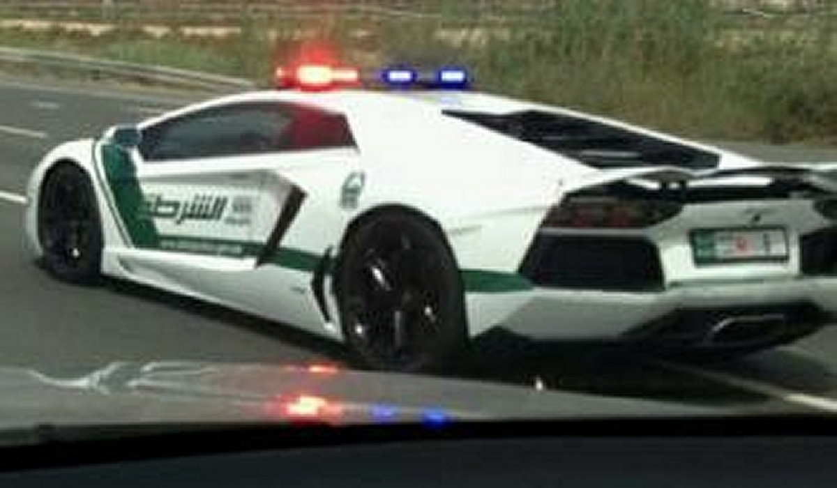 Why Lamborghini Aventador Police Car Because Dubai