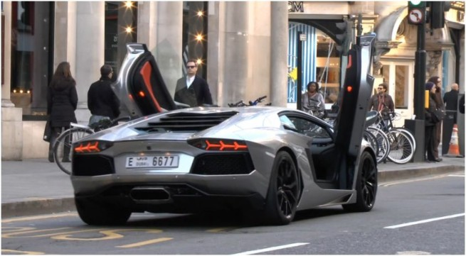 Never Drive Your Aventador With The Doors Open You Ll
