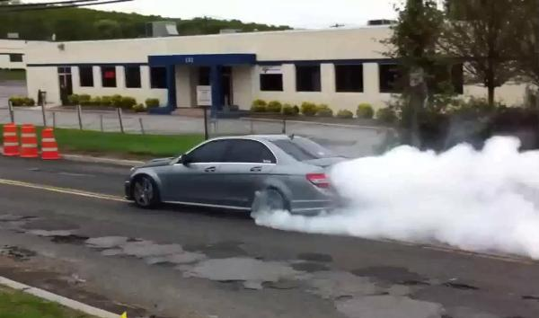 Epic burnout  leads to impressive 11s