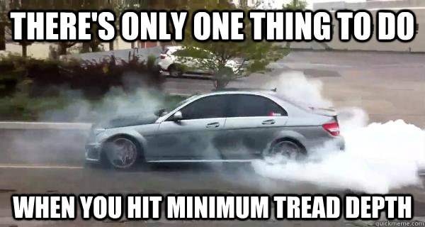 Watch This Tuned C63 Amg Do An Epic Burnout