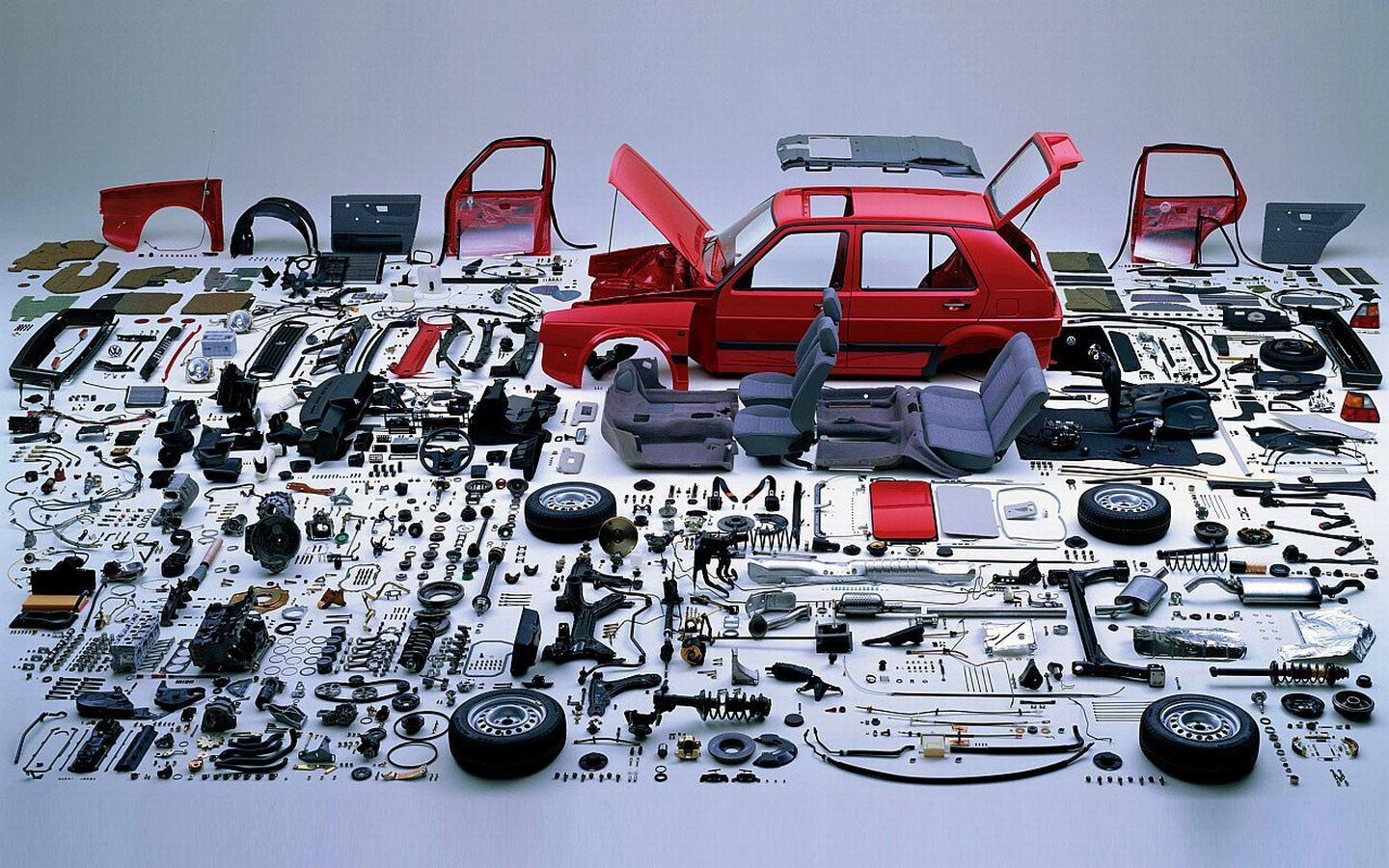 Your Picture Of The Day Disassembled Mkii Golf