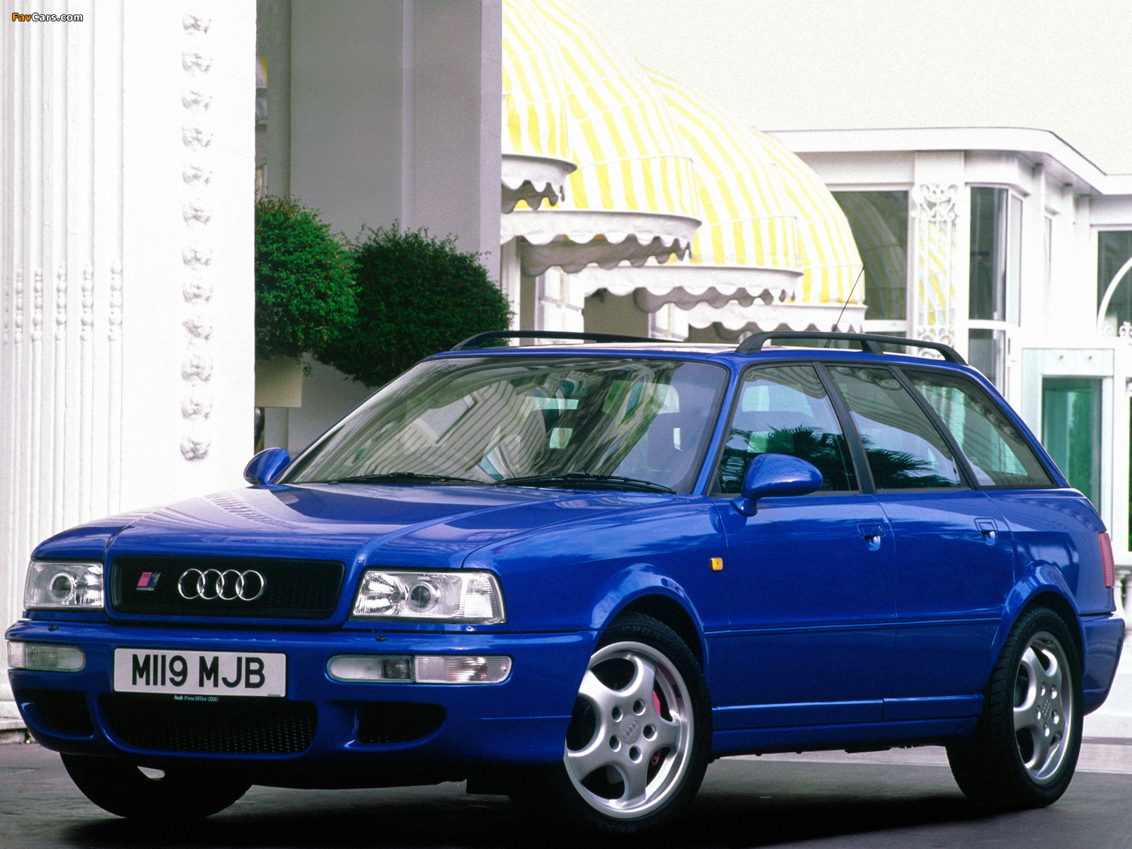 Why The Audi Rs2 Is A Proper 90s Hero Car