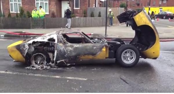 How the mighty have fallen. RIP Lamborghini Miura