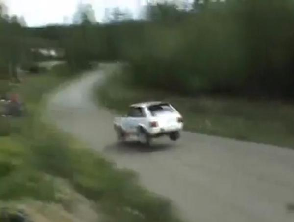 How The Hell Did This Rally Driver Save Himself From Certain