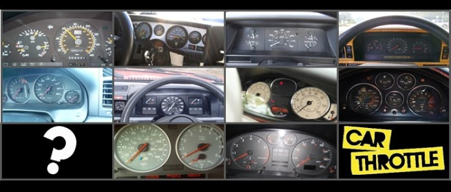 Can you guess what cars these 10 retro gauges belong to