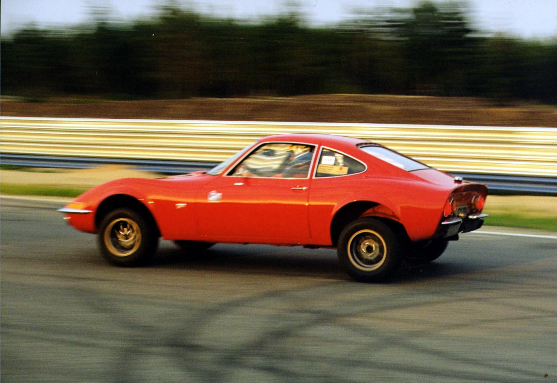 We'll assume this car's hitting a left-hander at well over 1000mph...Image source: www.styleforum.net