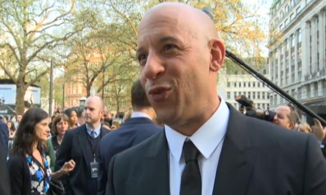 Pouting Vin Diesel
