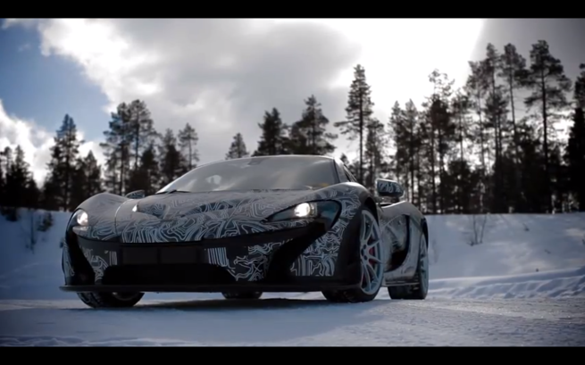 McLaren P1 Establishing
