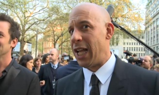 You Scare Me Vin Diesel