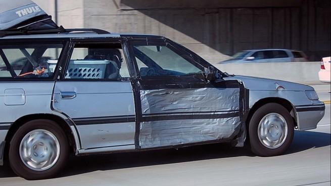 duct tape door