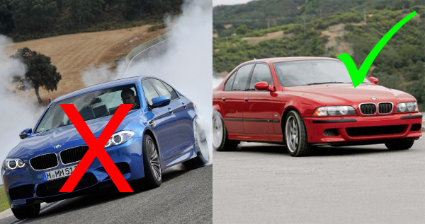 Five Reasons Why Modern Cars Suck - Cool cars 1990s