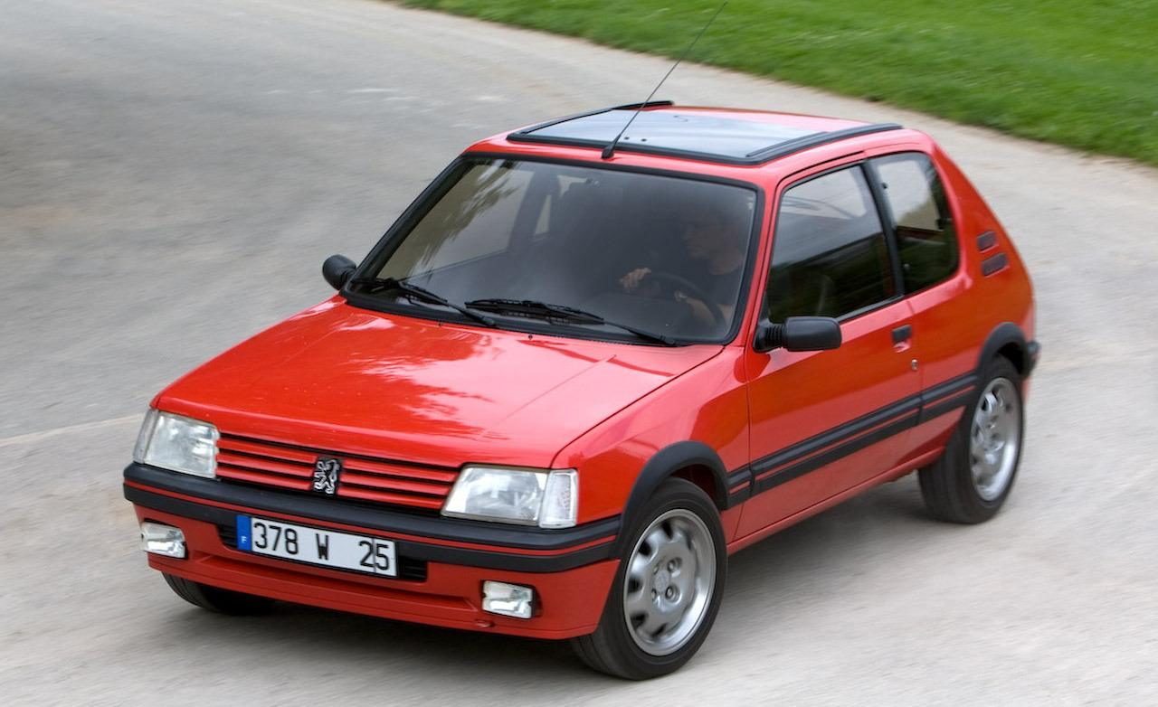a 205 gti with modern internals the world 39 s most perfect hot hatch. Black Bedroom Furniture Sets. Home Design Ideas
