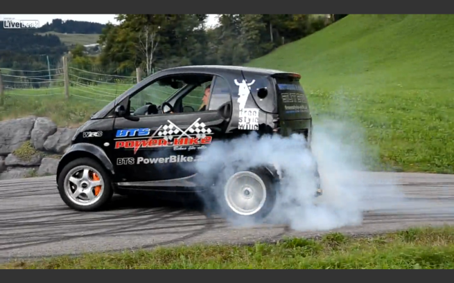 This Hayabusa Engined Smart Is The Ultimate Inner City Drift Weapon