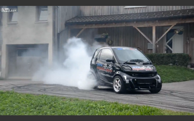 This Hayabusa-Engined Smart Is The Ultimate Inner-City ...