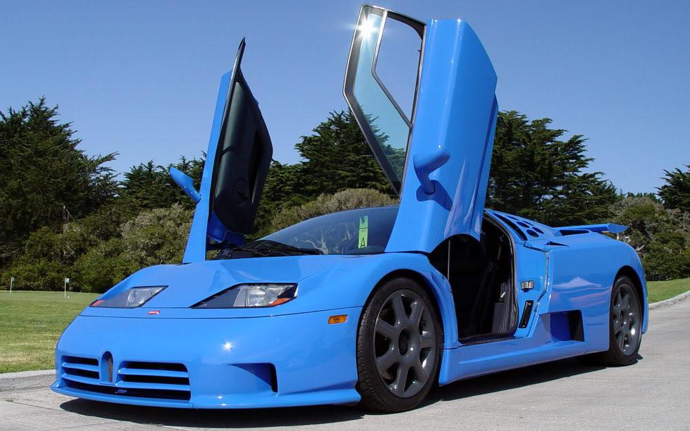 Why The Bugatti Eb110 Is A Proper 90s Hero Car