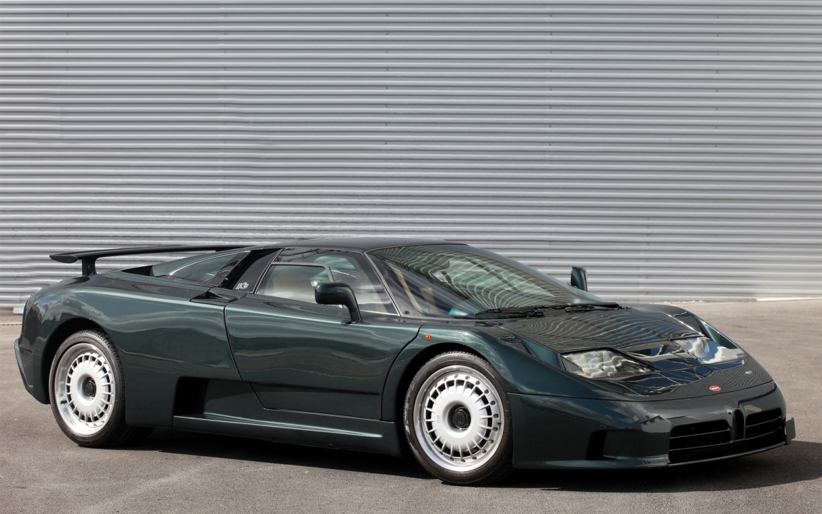 Why The Bugatti Eb110 Is A Proper 90s Hero Car