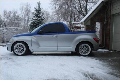 How Do You Make A Pt Cruiser Cool Give It A V10 Viper