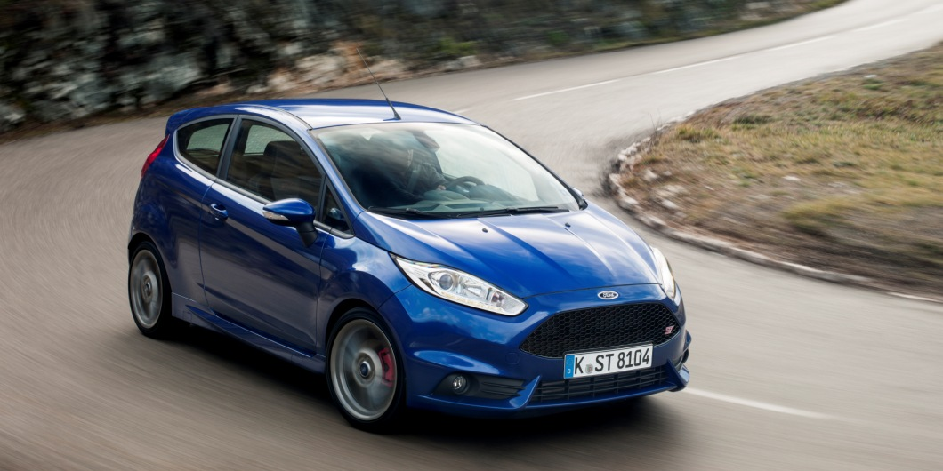 New Fiesta ST runs a turbocharged 1.6 with 179bhp