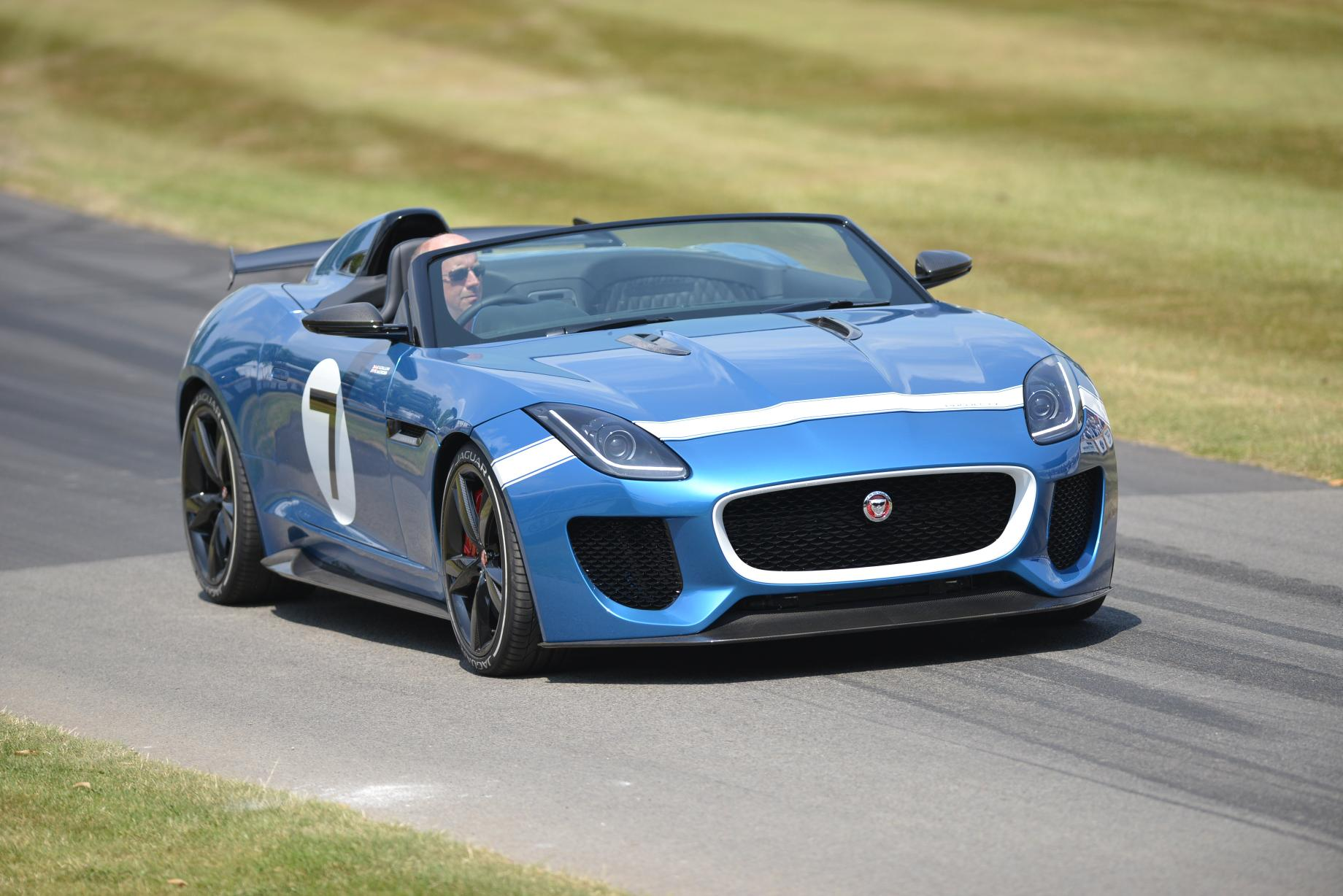 Stunning Jaguar Project 7 Prototype Wows Goodwood