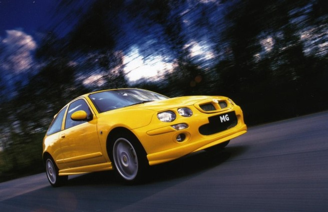 MG ZR (Image: MG Rover)