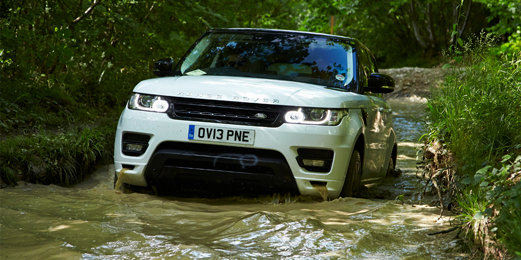 New Range Rover Sport uses a 5.0-litre V8 supercharged petrol engine with 503bhp