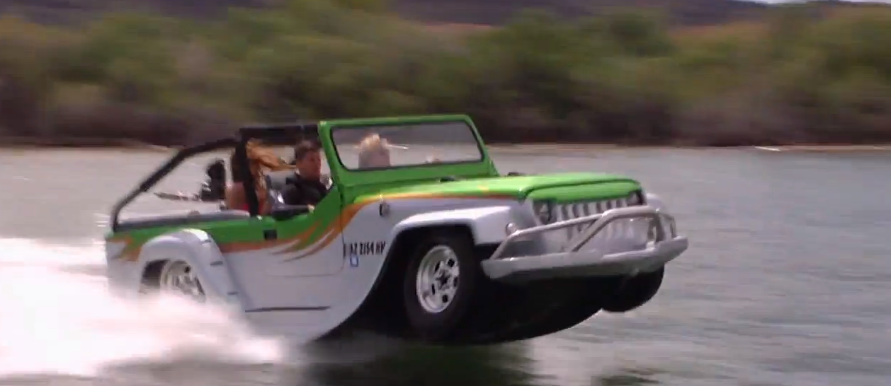 This Is The World\'s Fastest & Coolest Amphibious Car