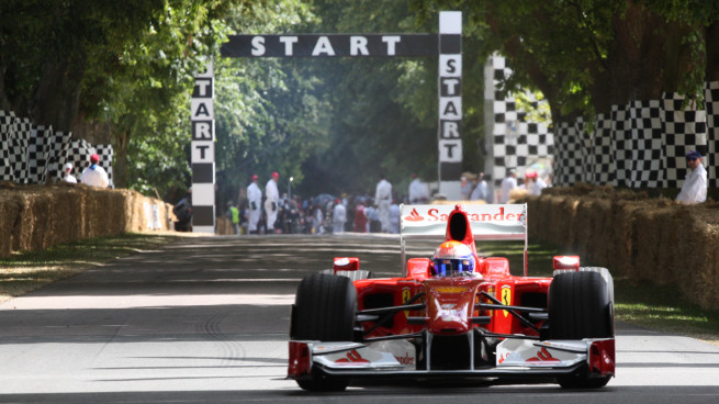 Goodwood Festival of Speed Ferrari F1 car