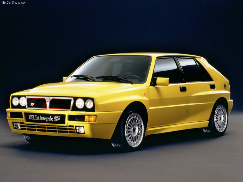 Why The Lancia Integrale Is A Proper 90s Hero Car