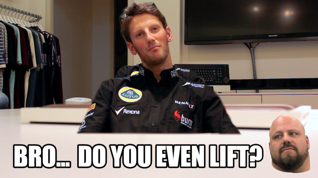 romain-grosjean-lift