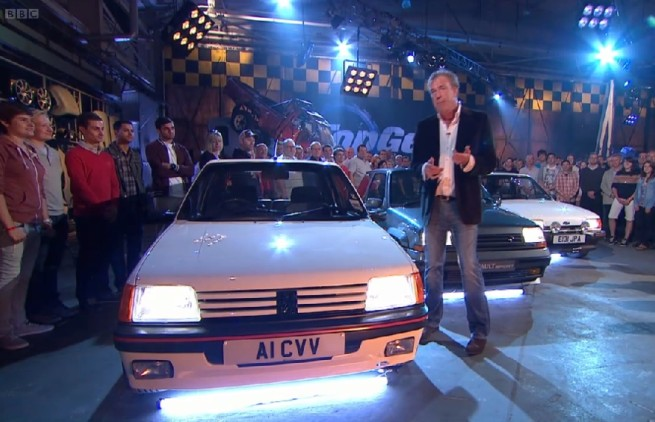 Top Gear compares hot hatchbacks (Image: BBC)