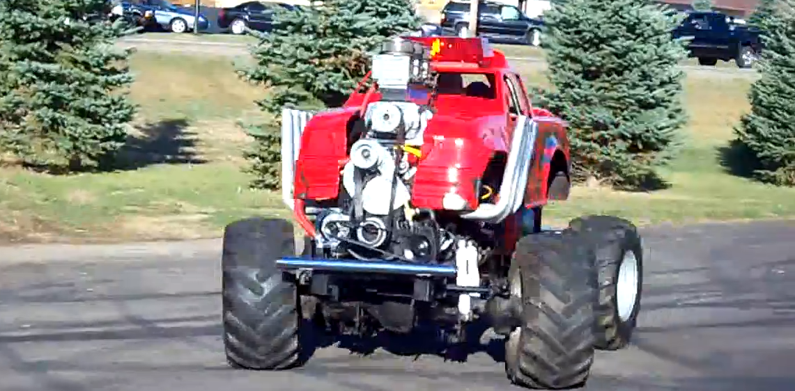 This Ridiculously Cool 600hp Mini Monster Truck Is Chuck