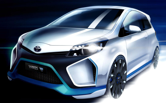 Last Week We Brought You The News That Toyota Would Pull Covers Off Its Mental Yaris Hybrid R At Frankfurt Motor Show A Wild 400bhp All Wheel Drive