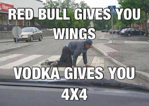 13  Vodka gives you 4x4 Car Memes