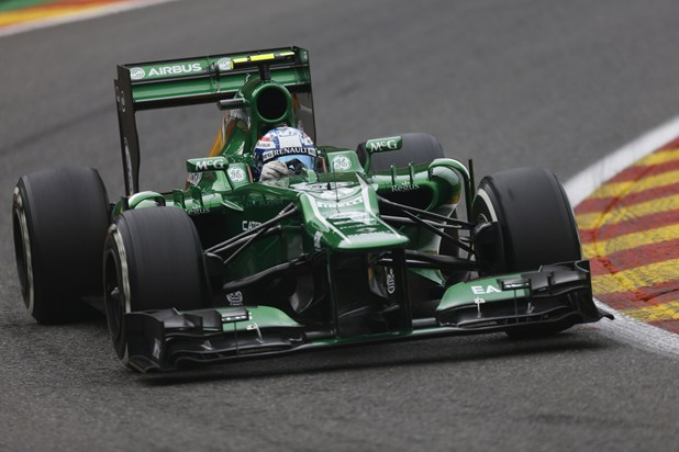 Image source: Caterham F1 Team