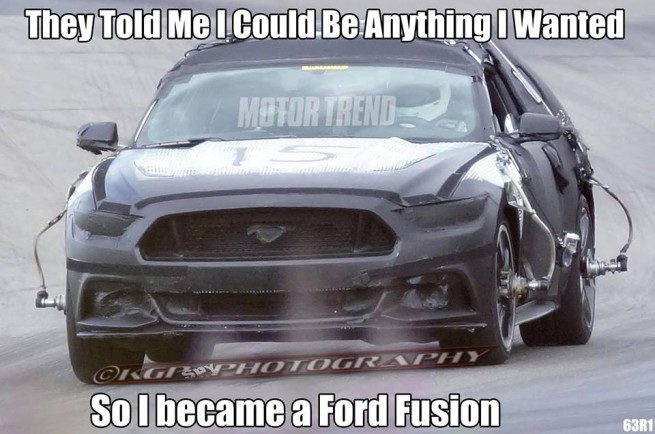 Ford Fusion Meme (MotorTrend)