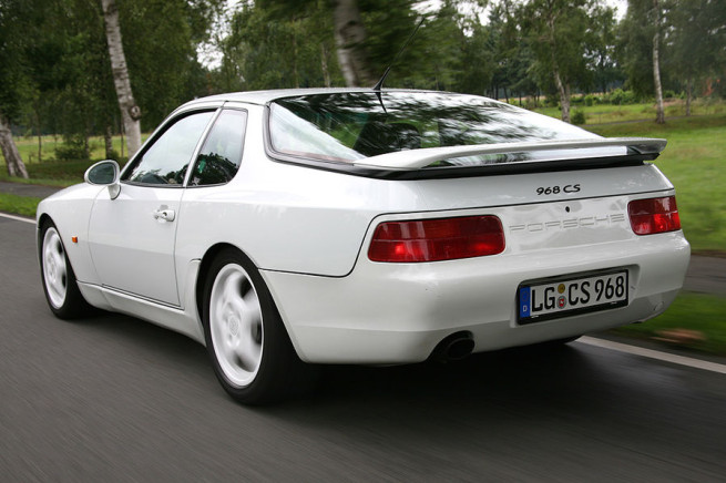 Why The Porsche 968 Club Sport Is A Proper 90s Hero