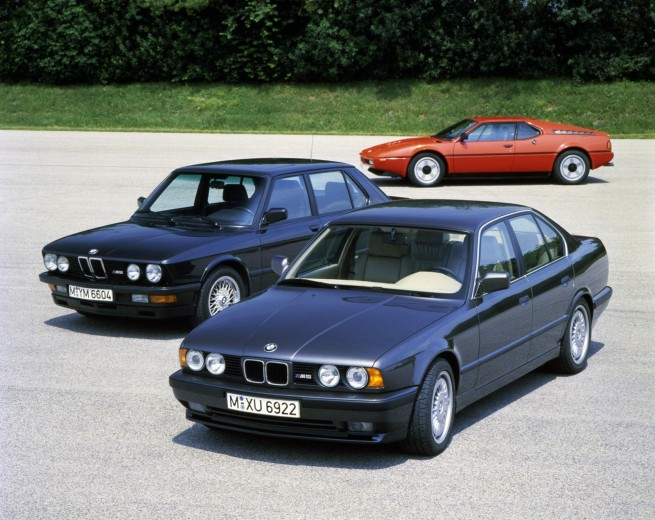The E28, together with the E34 that succeeded it and the M1 from whence its engine came