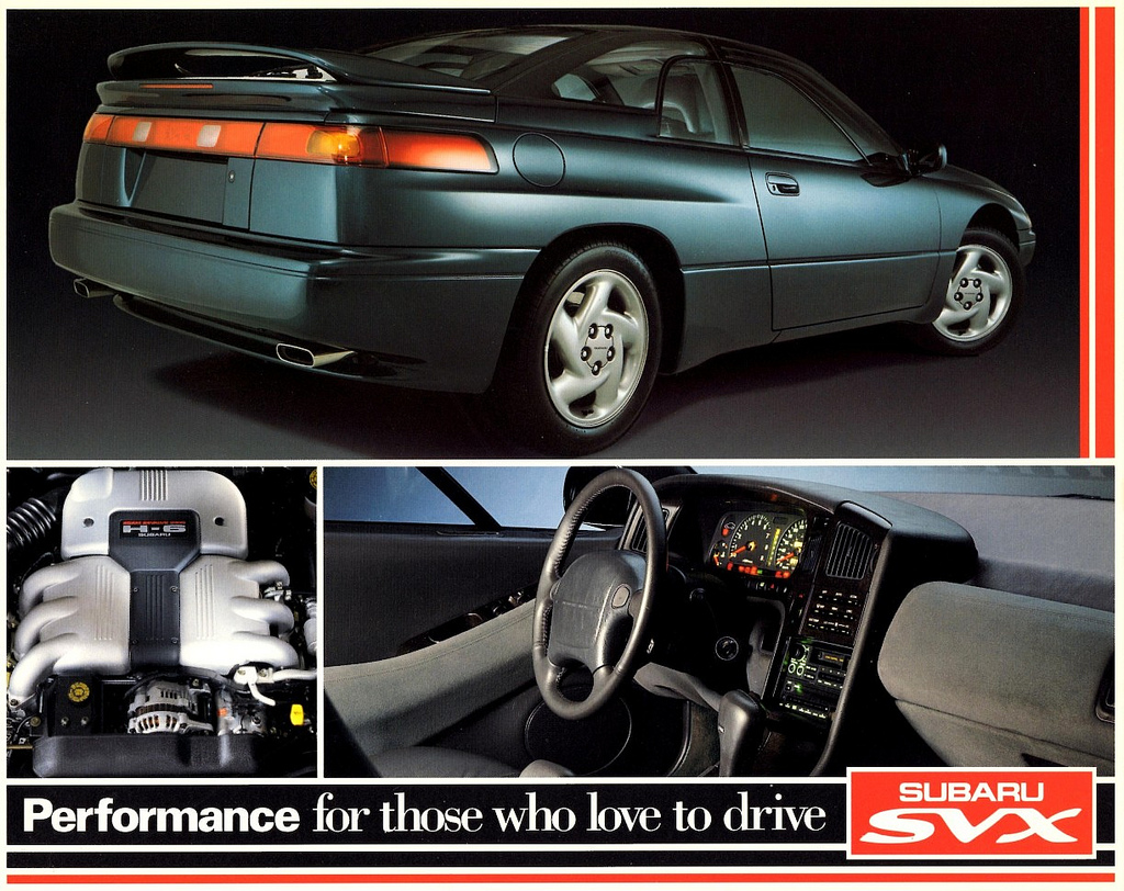 why the subaru svx is a proper 90s hero car. Black Bedroom Furniture Sets. Home Design Ideas