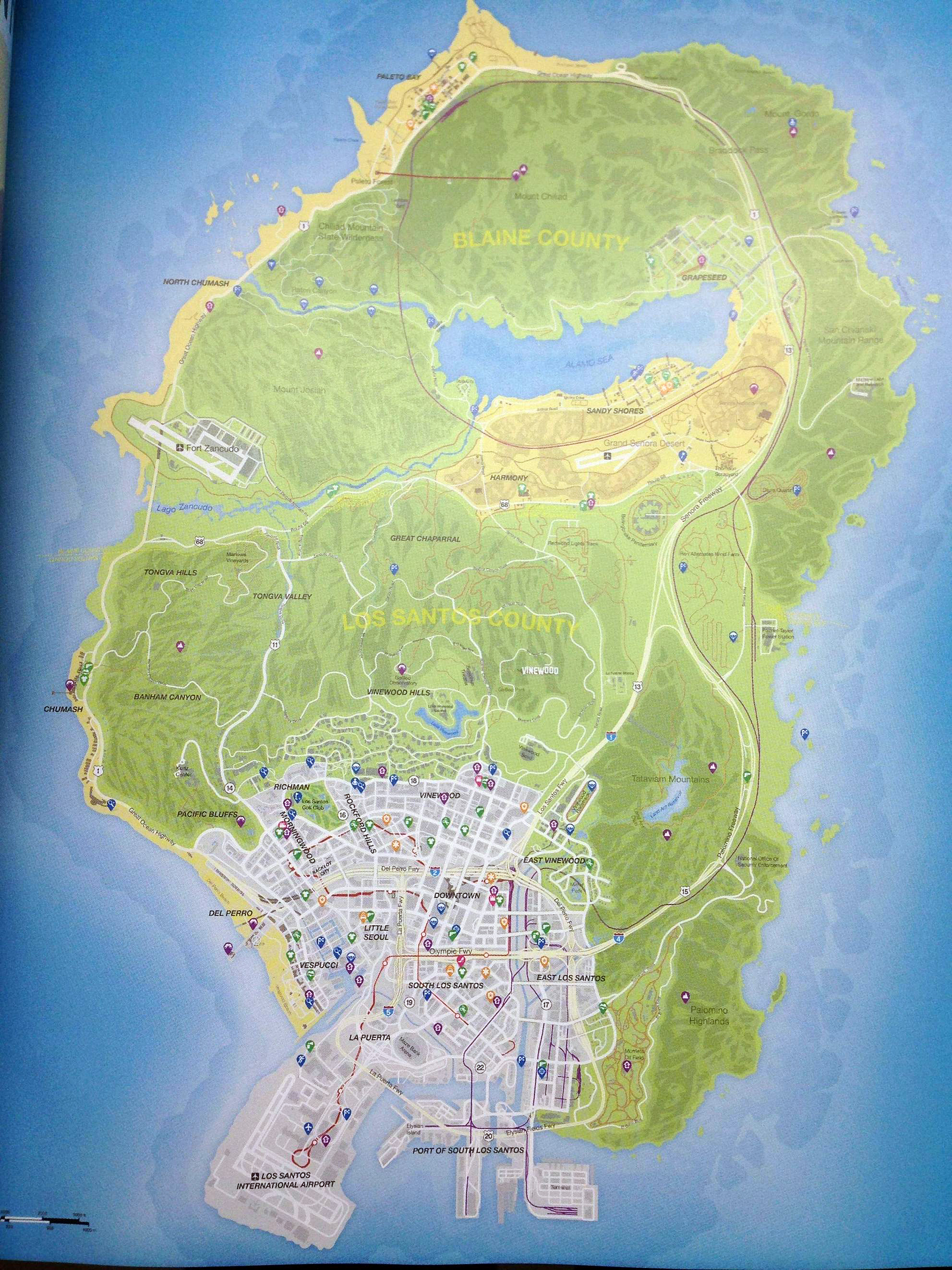 Map grand theft auto v - The Grand Theft Auto V Leaked Map Looks Exactly Like A Teenage Ninja Turtle
