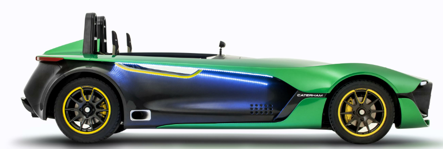 Caterham S New Aeroseven Could Be The Ultimate Race Car For The Road