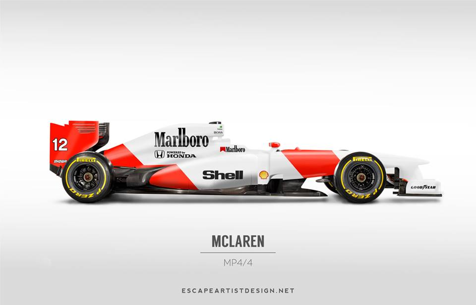 Current F1 Cars Look Too Damn Cool In Classic Liveries
