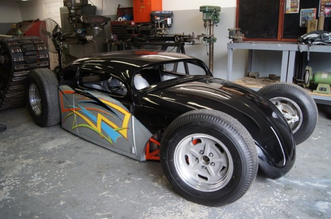 Insane Gsxr Powered Beetle Proves That Not All Hot Rods