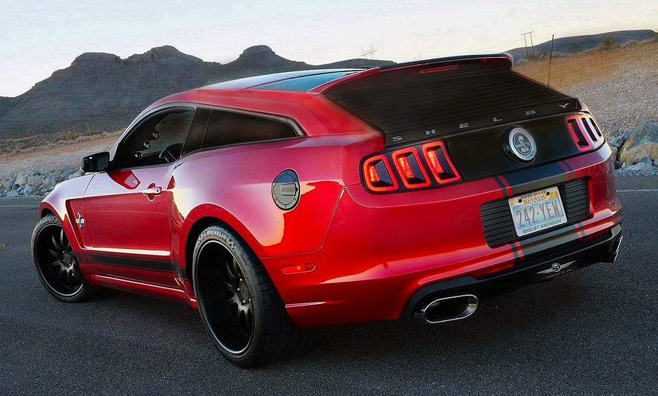 Proof That A Shelby Mustang Gt500 Shooting Brake Would